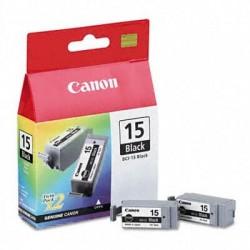 BCI15 Double Pack Noir Cartouche d'encre Canon