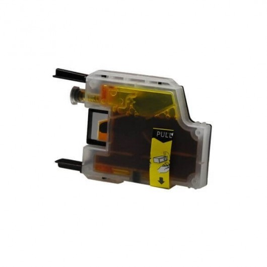 LC1240Y Jaune Cartouche jet d'encre Compatible Brother LC-1240Y