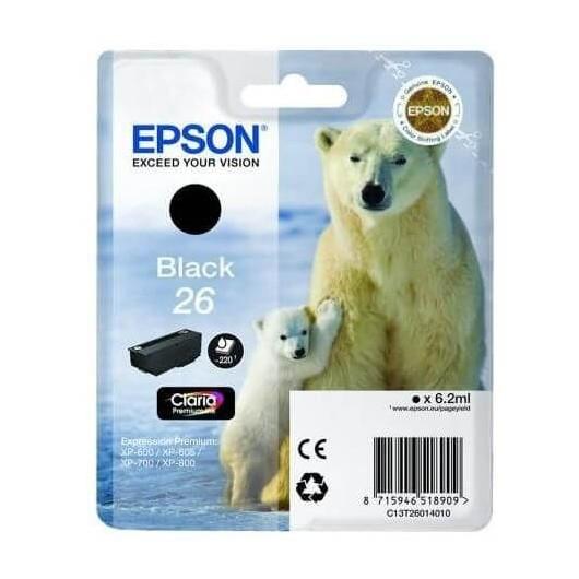 Epson T2601 - 26 Ours Polaire- Cartouche Epson