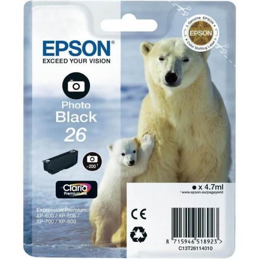Epson T2611 - 26 Ours Polaire- Cartouche Epson
