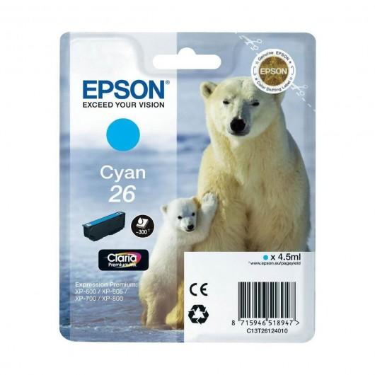 Epson T2612 - 26 Ours Polaire- Cartouche Epson