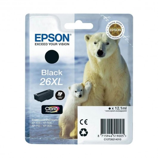 Epson T2621 - 26XL Ours Polaire- Cartouche Epson
