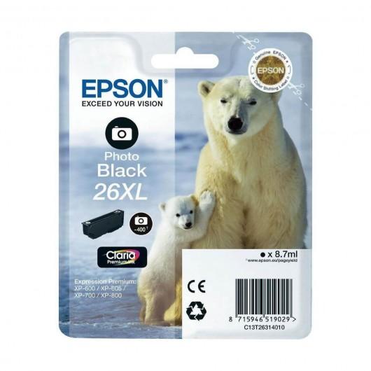 Epson T2631 - 26XL Ours Polaire- Cartouche Epson