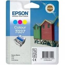 Epson T037 - Couleurs - Cartouche Epson Plage