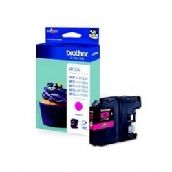 Brother LC-123M - Magenta - Cartouche d'encre Brother