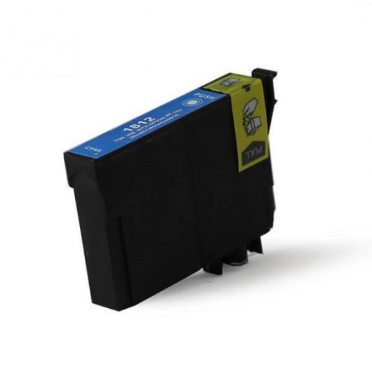 Epson T1812 - Epson 18XL - Epson Pâquerette - Cyan - Cartouche Compatible