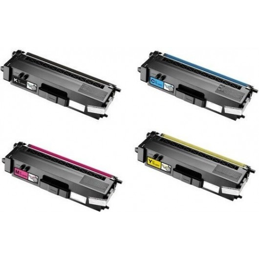 Brother TN-325 - Noir / Couleurs - Pack de 4 Toners Compatibles Brother