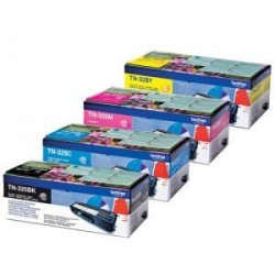 Brother TN-325 - Noir / Couleur - Pack de 4 Toners Brother