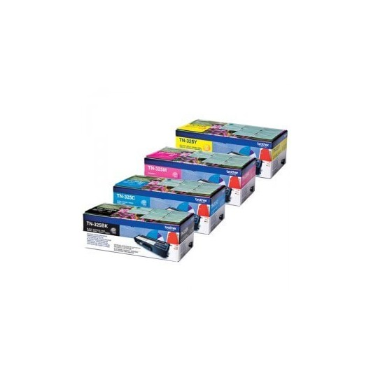 Brother TN325 - Noir / Couleur - Pack de 4 Toners Brother