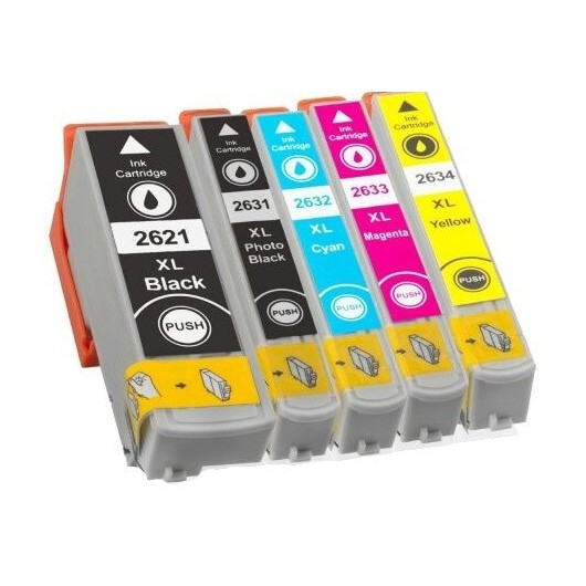 Epson T2636 - 26XL Ours Polaire - MultiPack 5 Cartouches Compatible Epson