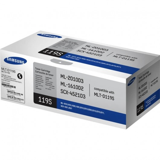 Samsung MLT-D119S - Noir - Toner Samsung