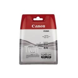 Canon PGI-520 - 2932B012 - Noir - 2 Cartouches d'encre Canon