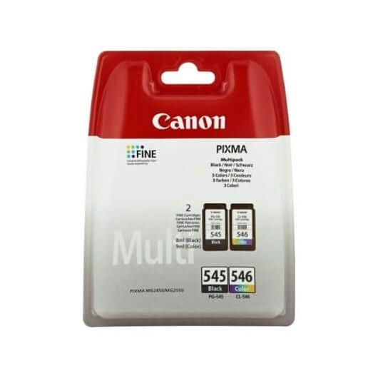 Canon PG-545 / CL-546 - 8287B006 - Noir - Pack de 2 Cartouches d'encre Canon
