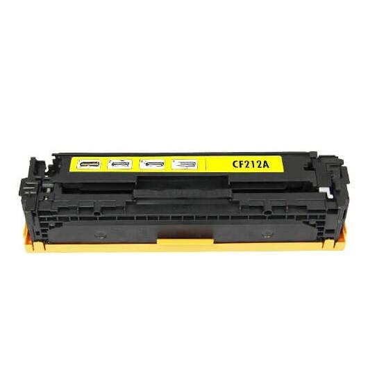 HP 131A - HP CF212A - Jaune - Toner Compatible HP