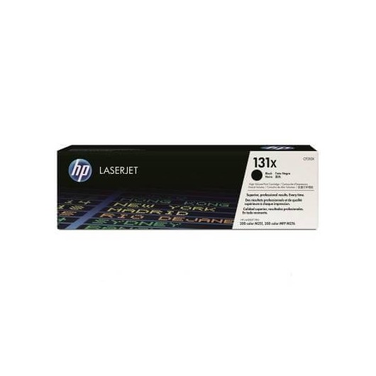 HP 131X - HP CF210X - Noir - Toner HP
