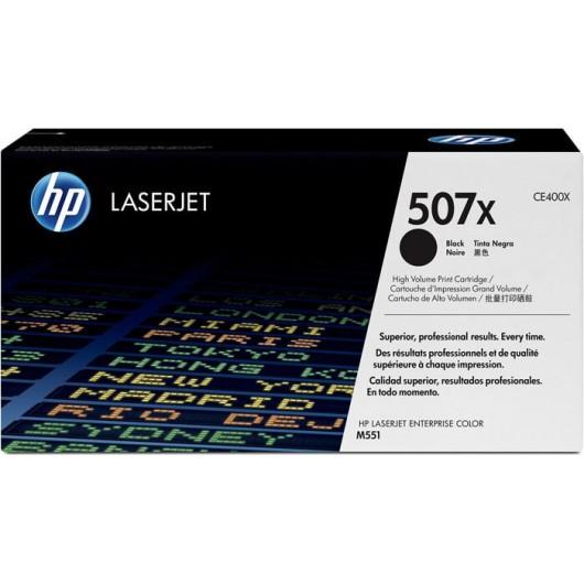 HP 507X - HP CE400X - Noir - Toner HP