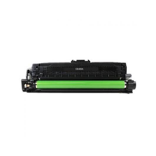 HP 507A - HP CE400A - Noir - Toner Compatible HP