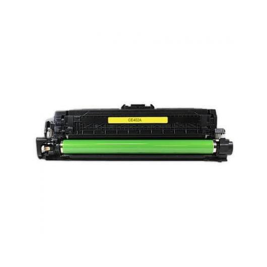 HP 507A - HP CE402A - Jaune - Toner Compatible HP