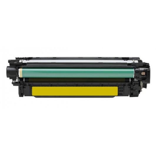 HP 504A - HP CE252A - Jaune - Cartouche Compatible HP