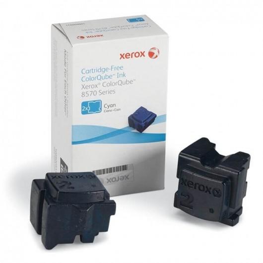 Xerox 108R00931 - Cyan - Kit de 2 ColorQube Xerox
