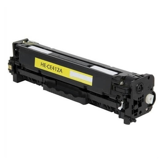 HP 305A - HP CE412A - Jaune - Toner Compatible HP