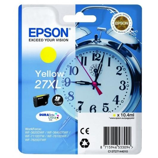 Epson T2714 - Epson 27XL -Epson  Reveil - Jaune - Cartouche Epson