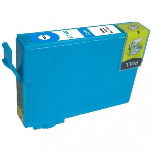 Epson T1302 -Epson  Cerf - Cyan - Cartouche d'encre XL Compatible