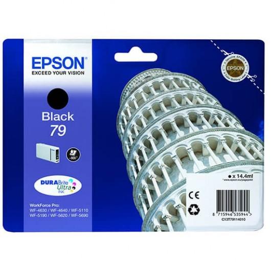 Epson T7911 - Epson 79 - Tour de pise - Noir - Cartouche d'encre Epson