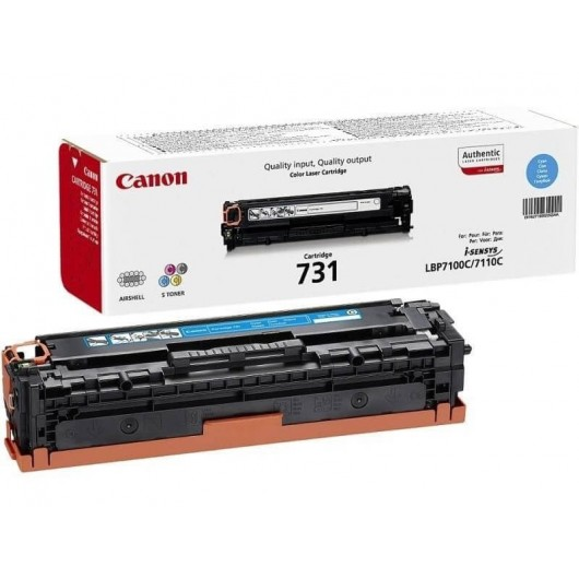 Canon 731 - 6271B002 - Cyan - Toner Canon