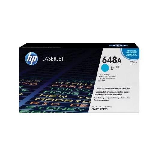 HP 648A - HP CE261A - Cyan - Toner HP