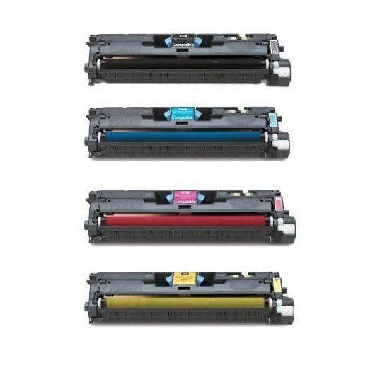 HP 122A - HP Q396xA - Pack de 4 Toners Compatible HP