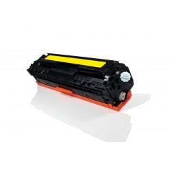 HP 125A - HP CB542 - Jaune - Toner Compatible HP