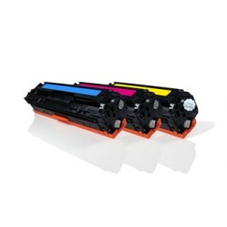 HP 304A - HP CF372AM - 3 Toners Compatible HP