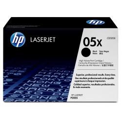 HP 05X - HP CE505X - Noir - Toner XL HP
