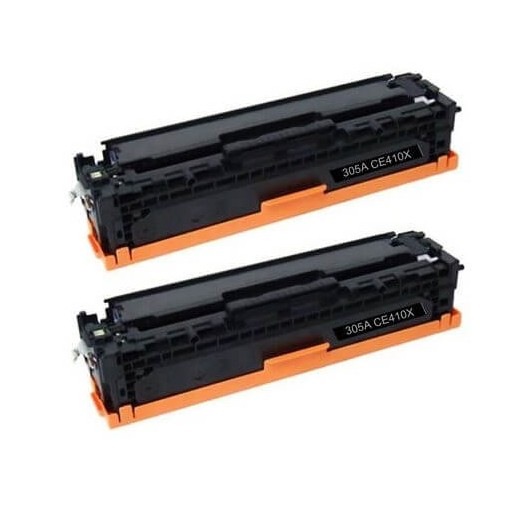 HP 305X - HP CE410XD - Pack de 2 Toners Compatible HP