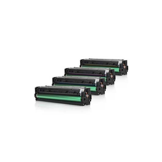 HP 131X - HP CF210X/U0SL1AM - Pack de 4 Toners Compatible HP