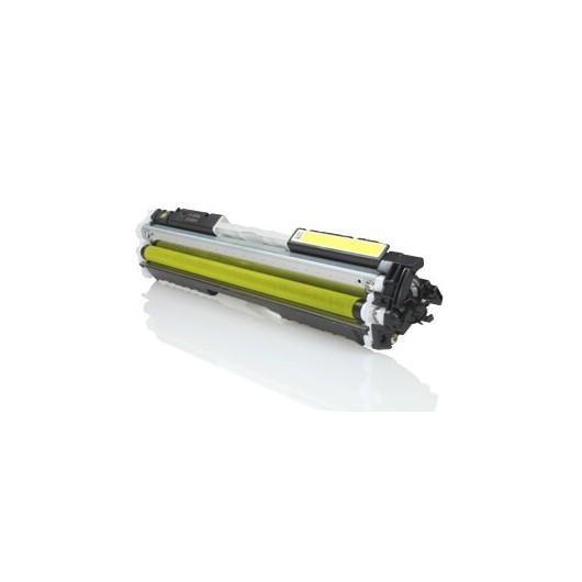 HP 126A - HP CE312A - Jaune - Toner Compatible HP