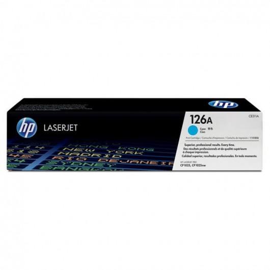 HP 126A - HP CE311A - Cyan - Toner HP