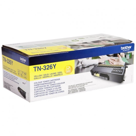Brother TN-326Y - Jaune - Toner XL Brother