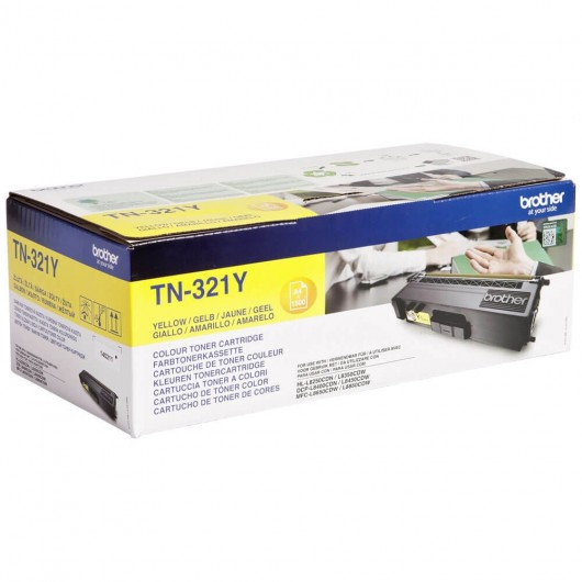 Brother TN321Y - Jaune - Toner Brother