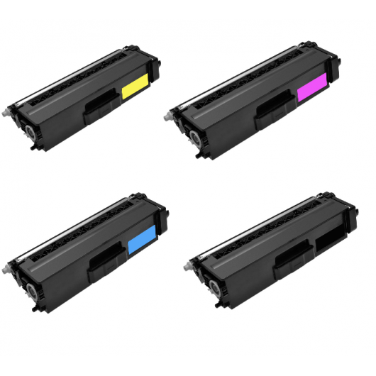Brother TN-326 - Noir / Couleurs - Pack de Toners XL Compatible Brother