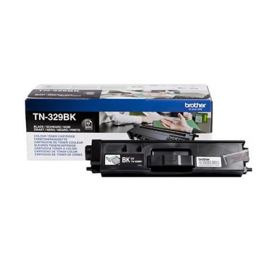 Brother TN-329BK - Noir - Toner XXL Brother