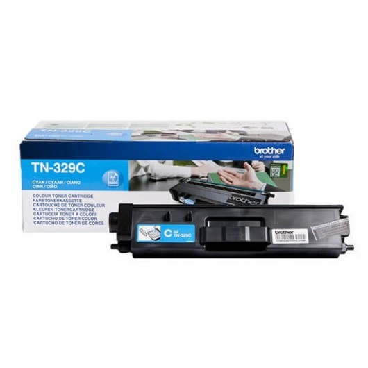Brother TN-329C - Cyan - Toner XXL Brother