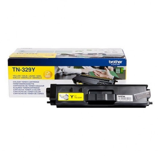 Brother TN-329Y - Jaune - Toner XXL Brother