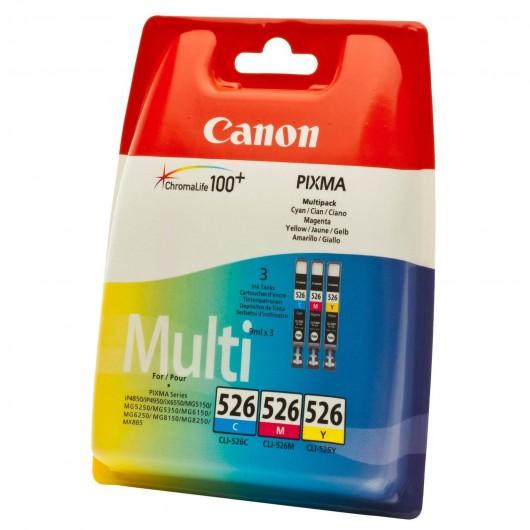 Canon CLI-526 - 4541B009 - 3 Cartouches Canon