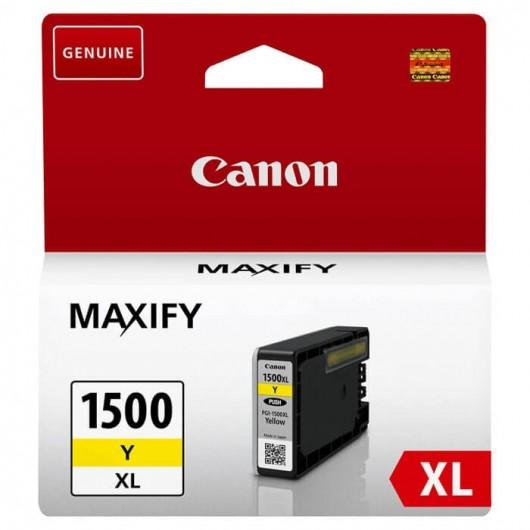 Canon PGI-1500XL - 9195B001 - Jaune - Cartouche d'encre Canon