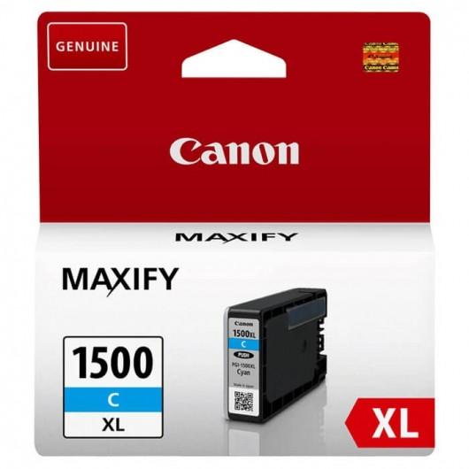 Canon PGI-1500XL - 9193B001 - Cyan - Cartouche d'encre Canon
