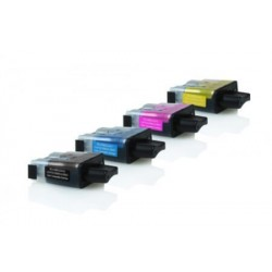 Brother LC-900VALBP - Noir / Couleurs - Pack de 4 Cartouche d'encres Compatible Brother