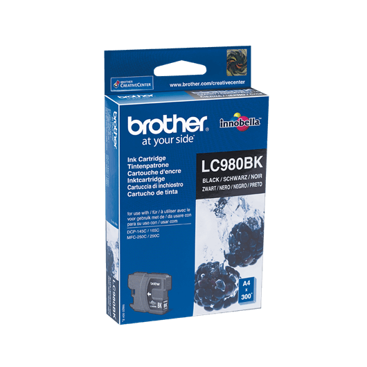 Cartouche Brother LC-980BK - Noir
