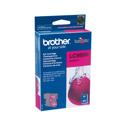 LC-980M - Magenta - Cartouche Brother